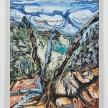 Maria Calandra. <em>Sierra Buttes – View Through a Dead Tree</em>, 2021. Acrylic on canvas over panel, 24 x 18 inches (61 x 45.7 cm) thumbnail
