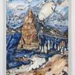Maria Calandra. <em>Pyramid Lake</em>, 2021. Acrylic on canvas over panel, 24 x 18 inches (61 x 45.7 cm) thumbnail
