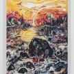 Maria Calandra. <em>Spring Sunset at Naskeag</em>, 2021. Acrylic on canvas over panel, 24 x 18 inches (61 x 45.7 cm) thumbnail