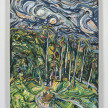 Maria Calandra. <em>View from Museo e Real Bosco di Capodimonte</em>, 2021. Acrylic on canvas over panel, 24 x 18 inches (61 x 45.7 cm) thumbnail