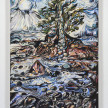 Maria Calandra. <em>Winter Kissing Trees at Flye Point</em>, 2021. Acrylic on canvas over panel, 24 x 18 inches (61 x 45.7 cm) thumbnail