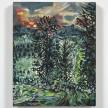 Maria Calandra. <em>Sunrise on Sleekonk Road</em>, 2021. Acrylic on linen over panel, 10 x 8 inches (25.4 x 20.3 cm) thumbnail
