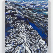Maria Calandra. <em>Alps from the Air</em>, 2021. Acrylic on canvas over panel, 14 x 11 inches (35.6 x 27.9 cm) thumbnail
