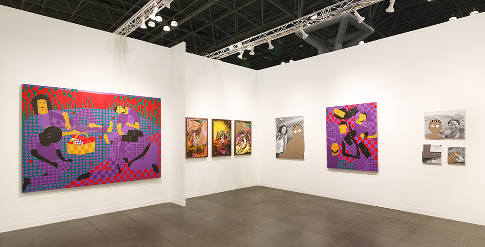The Armory Show. Installation view, New York, 2021