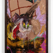 Bianca Fields. <em>The Big Wig Snatch</em>, 2021. Acrylic, oil and spray paint on yupo paper mounted on canvas with artist frame, 40 x 26 inches (101.6 x 66 cm) thumbnail