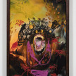 Bianca Fields. <em>Pressed Out Like Peanut Butter</em>, 2021. Acrylic, oil and spray paint on yupo paper mounted on canvas with artist frame, 40 x 26 inches (101.6 x 66 cm) thumbnail