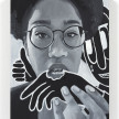 Brittany Tucker. <em>Delicious</em>, 2021. Oil on panel, 15 3/4 x 11 7/8 inches (40 x 30.2 cm) thumbnail