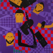 Jon Key. <em>Chosen Family No. 15</em>, 2021. Acrylic on panel, 60 x 48 inches (152.4 x 121.9 cm) thumbnail
