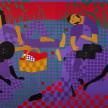 Jon Key. <em>Chosen Family No. 17</em>, 2021. Acrylic on panel, 72 x 96 inches (182.9 x 243.8 cm) thumbnail