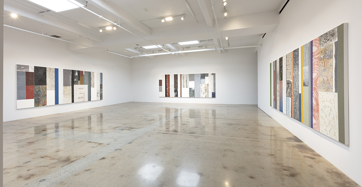 <em>Timescape</em>. Installation view, Steve Turner, 2021