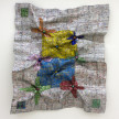 Dickens Otieno. <em>Flowers</em>, 2021. Shredded aluminum cans woven on galvanized steel mesh, 66 1/2 x 56 3/4 inches (168.9 x 144.1 cm) thumbnail