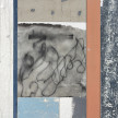 Pablo Rasgado. <em>Timescape 1</em>, 2021. Extractedacrylic, enamel, spray paint and dirt on canvas; 31 panel of varying dimensions, 78 3/4 x 196 7/8 inches (200 x 500.1 cm) Detail thumbnail