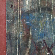 Pablo Rasgado. <em>Timescape 2</em>, 2021. Extracted acrylic, enamel, spray paint and on canvas; 29 panels of varying dimensions, 78 3/4 x 196 7/8 inches (200 x 500.1 cm) Detail thumbnail