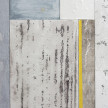 Pablo Rasgado. <em>Timescape 3</em>, 2021. Extracted acrylic, enamel, spray paint and dirt on canvas; 28 panels of varying dimensions, 78 3/4 x 196 7/8 inches (200 x 500.1 cm) Detail thumbnail